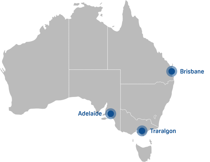 Our sites map